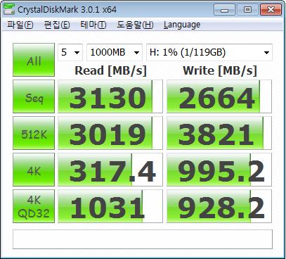하이엔드 SSD의 속도를 느껴라! 플렉스터 M6 프로