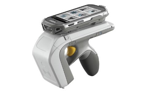 스마트폰에 장착해 바코드 스캐너로 활용한다, 지브라 'RFD8500'