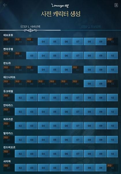 엔씨 '리니지M', 사전생성 접수 반나절 만에 24개 서버 포화