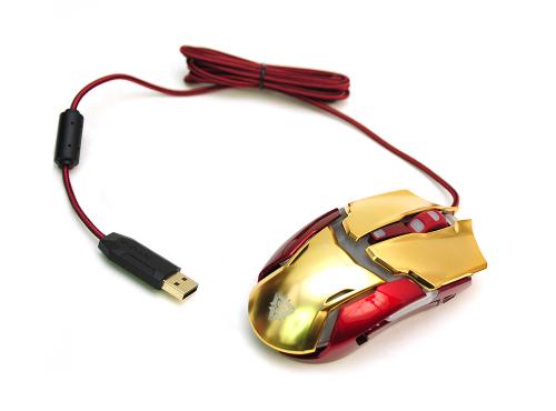 어벤져스2 겨냥한 제닉스 '아이언맨 마우스 및 헤드셋' 3종 사용기