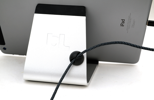 책상을 더 넓게 사용하자, 블루라운지 태블릿 거치대 '미카'