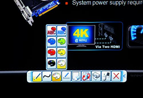 전자칠판 기능 품은 초단초점 프로젝터, 드림앤비전 히타치 CP-AX3503
