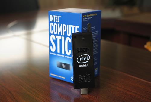 주머니에 넣고 다니는 PC, 인텔 '컴퓨트 스틱'