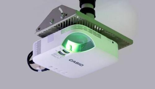 비용 절감을 위한 획기적인 프로젝터, 카시오 'XJ-V1'