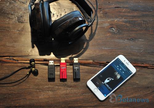 스마트폰 사운드에 생생함을 불어넣다, 드래곤플라이 DAC '블랙/레드'
