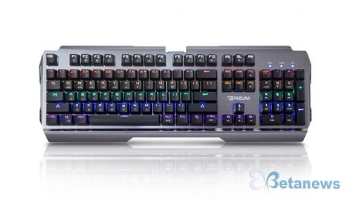 리줌, 레인보우 LED 품은 게이밍 기계식 키보드 'Z60' 출시