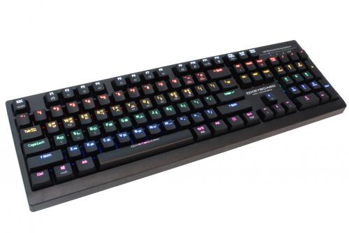 입문용 기계식 게이밍 키보드,스카이디지탈 'NKEY-K2 레인보우 LED'
