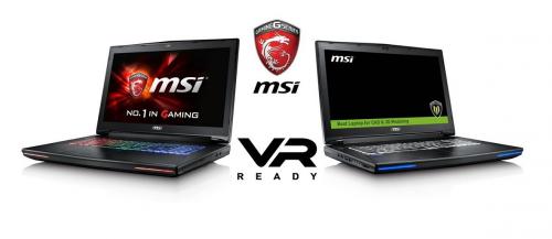 MSI 하이엔드 노트북 인텔로부터 VR 적합 제품 인정