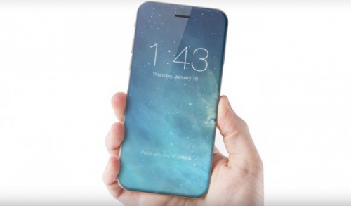 2017년 출시 아이폰은 전면 디스플레이...?