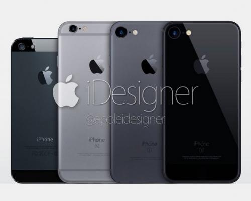 아이폰7의 새로운 색상 '스페이스 블랙' 이미지 나왔다