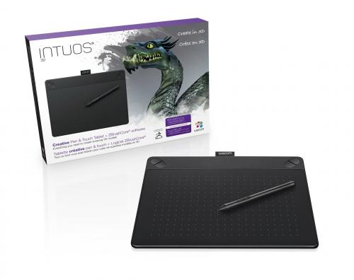 와콤, 3D 디자인 · 제품 모델링 가능한 펜 태블릿 선보여