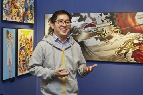 [인터뷰] NDC 최초 개인전 연 넥슨 이근우 아티스트