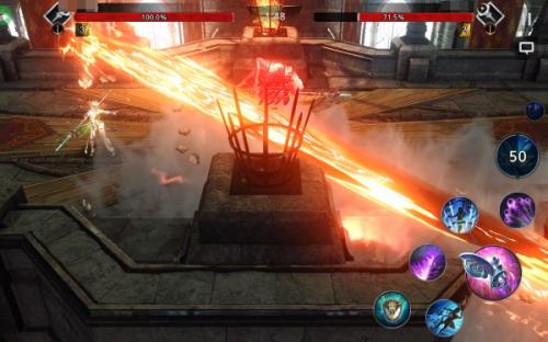 [e게임해보니] 다크어벤저3, 모바일 액션의 진수를 보여주다