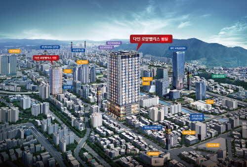 부산 분양시장 상승세.... '다인로얄팰리스 범일' 분양 마감 앞둬