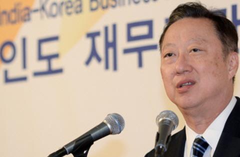 """박용만 상의 회장, 한·인도 경제협력 """"미래 밝다"""""""