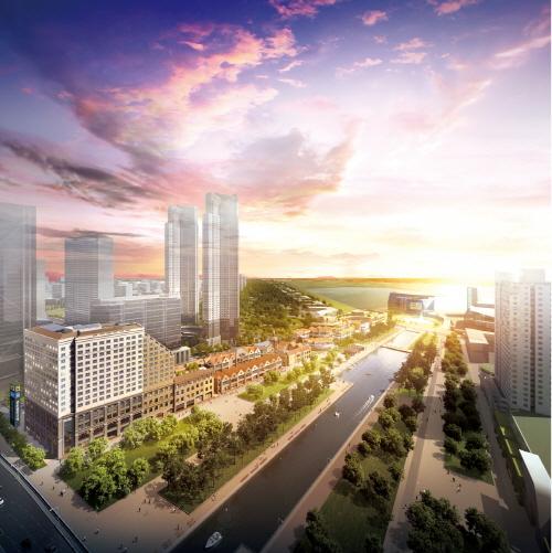 인천의 강남 송도서 푸르지오, 힐스테이트 브랜드 타운 형성