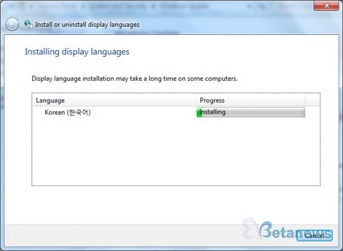 영문윈도우가 감쪽같이 한글윈도우로, 윈도우7 언어팩의 마법