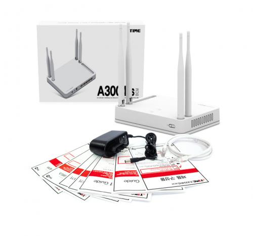아이피타임 A3004NS BCM, 우수한 전송능력과 미디어서버 기능