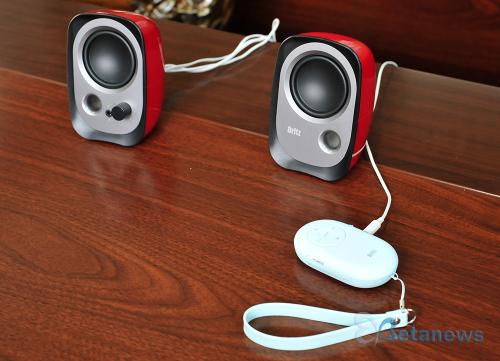 블루투스 및 라디오, 카메라 셔터까지! 브리츠 휴대용 스피커 'BZ-A650'