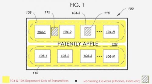 아이폰8 전시용?...애플, 무선 충전 내장 테이블 특허