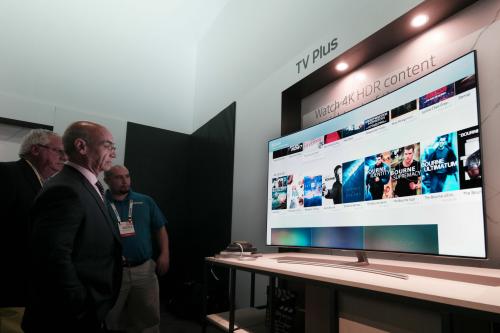 [CES2017]삼성전자 차세대 디스플레이 'QLED TV'