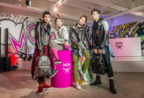 MCM, 올 봄 패션 트렌드는 '펑크'…2017 SS 컬렉션 '펑크 에토스' 공개