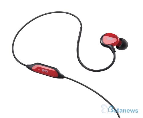 방진방수 기능의 피트니스 인이어 이어폰, 브리츠 'P281 Sport'