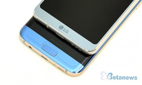 신상 LG G6, 삼성전자 갤럭시 S7 엣지와 비교해 보니...