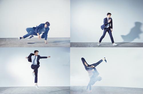 [패션영상]앤드지 바이 지오지아, '비보이·현대 무용수' 참여…'이모션 수트' CF 영상 공개