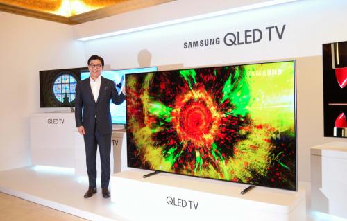 삼성전자,QLED TV  국내 출시…초고화질 TV 시장 공략
