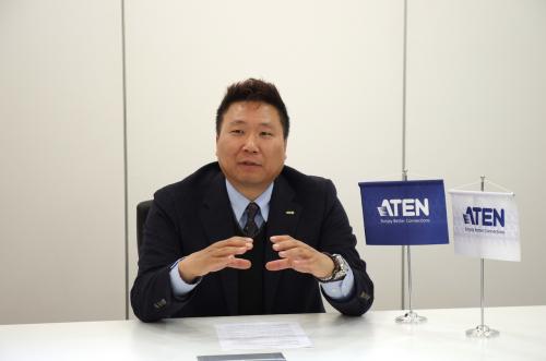 에이텐, 고충섭 대표가 말하는 KVM시장과 미래 성장분야는?