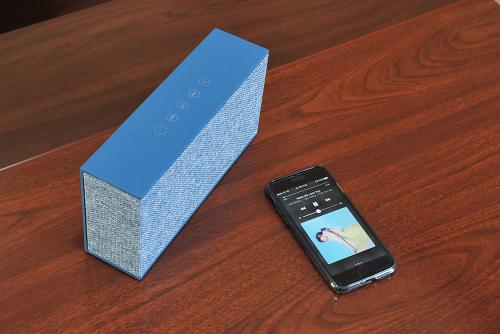 예쁘지만 막강한 음질의 블루투스 스피커, 브리츠 'BZ-P4000BT'