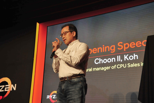 "AMD 라이젠5 출시 행사, ""인텔과 경쟁구도 공식 선언"""