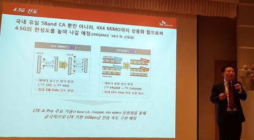 SKT, 4.5세대 이동통신 5밴드CA 상용화... 인공지능 기술도 적용