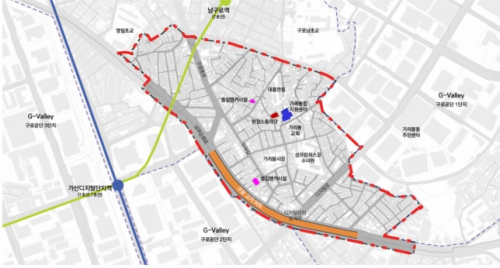 구로구 가리봉동 도시재생사업 본격화