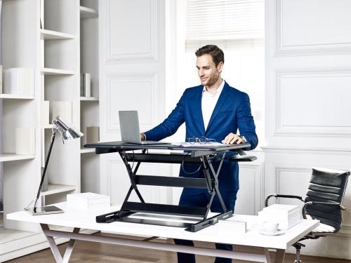 기존 책상을 높이조절 책상으로 만들자, 데스크플러스+ 'G100'