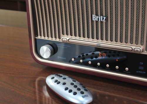 레트로 분위기가 물씬! 브리츠 올인원 오디오, 'BZ-T7800 앤티크 오디오'