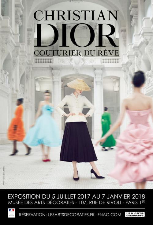 크리스챤 디올, '디올 하우스' 창립 70주년 기념…'파리 장식 미술관'서 전시회 개최