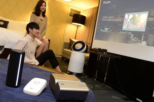 LG전자, '그랜드 인터컨티넨탈 서울 파르나스'서 가전제품 체험하세요