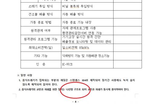 용산구청 음식물쓰레기 대형감량기 비리 의혹. 총정리 ②