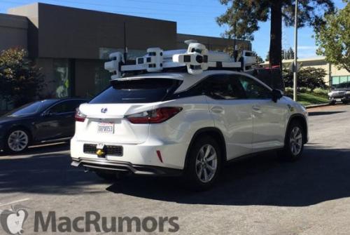 애플, 자율주행 테스트에 신형 차량 투입