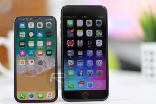 아이폰8 디스플레이 크기, 역대 아이폰과 비교해보니...