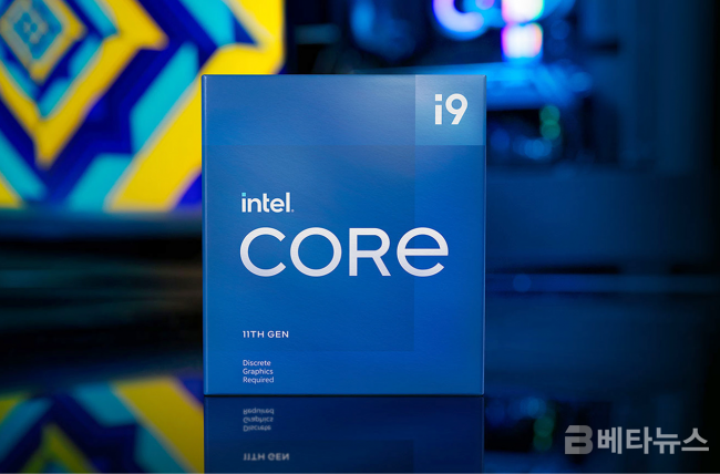 '새로운 아키텍처로 새로운 시작'Intel Core i9-11900F